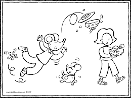 dogs themed colouring pages kiddi kleurprentjes