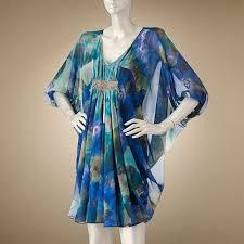 my favorite things jennifer lopez floral chiffon caftan dress