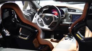 white corvette interior 2015 chevrolet corvette z06 interior details detroit 2014