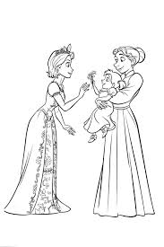 beauty baby rapunzel coloring pages 3477 baby rapunzel coloring