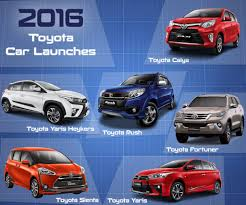 toyota global here are all the new toyota cars launched in 2016 giv