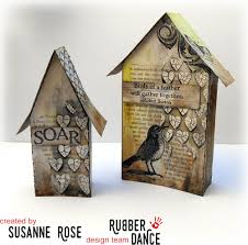 rubber dance blog little houses easter home decor by susanne