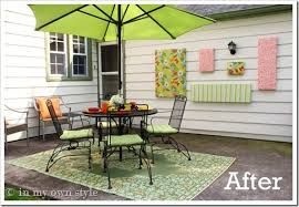 Patio Decorating Ideas Cheap