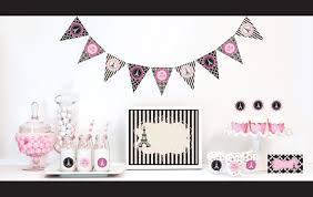 decoration theme paris paris themed party decorations kit bridal shower por modparty