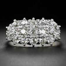 cluster rings antique diamond cluster ring