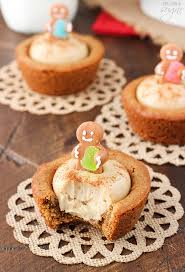 gingerbread cheesecake cookie cups life love and sugar