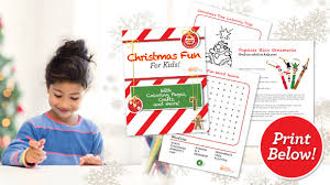 number names worksheets christmas activity booklets free