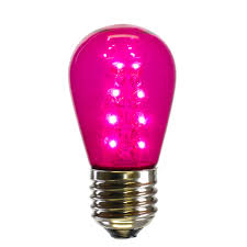 Red Led Light Bulb by Led Light Bulbs S14 Sized Replacement Bulbs Christmastopia Com