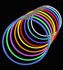 glow necklaces 50 premium 22 glow stick necklaces assorted colors