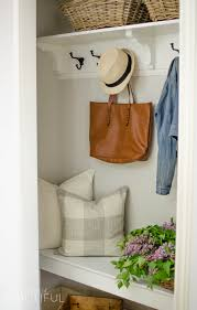 coat closet makeover a burst of beautiful