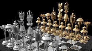 shirin esmaili chess set design