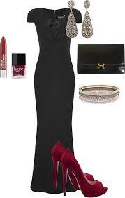10 street style black tie dresses bring out more attractive