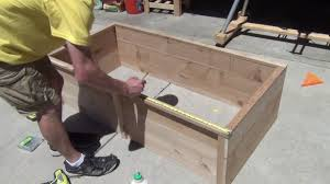 How To Build A Raised Flower Bed How To Make A Raised Flower Bed Youtube