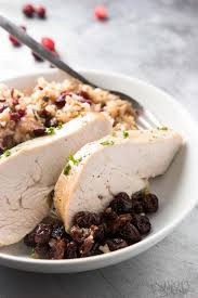 crock pot turkey recipes for thanksgiving slow cooker turkey breast with apples and wild rice