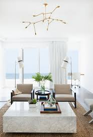 minimalist modern beach house design white walls and curtains