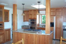 light cherry wood kitchen cabinets affordable custom cabinets showroom