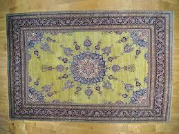 Green Persian Rug 16 U00276