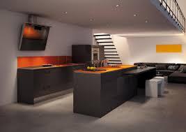 cuisine orange et noir nouveau look pour sa cuisine galerie photos de dossier 58 149