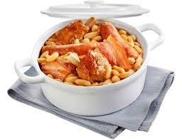 cuisiner un cassoulet cassoulet surgelé au canard cuisiné à la graisse de canard 800 g
