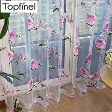 Modern Floral Curtain Panels Curtain Hanger Picture More Detailed Picture About Top Finel