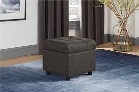 dhp furniture emily square storage ottoman