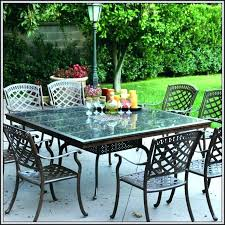 patio white wrought iron patio table used ow lee patio furniture