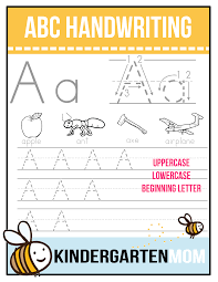 free abc beginning letter handwriting worksheets each worksheet