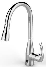 touch free kitchen faucet flow faucet from biobidet hands free motion sensing technology