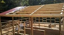 Pole Barn Roofing Day Three At Steve U0027s Squaring A Roof