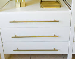Cabinet Pulls And Knobs Brass Knobs And Brass Drawer Pulls Lucite By Forgehardwarestudio
