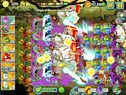 hacked plants vs zombies 2 temple of bloom level 154 no sun no