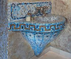 Bathroom Mosaic Tiles Ideas by Best 25 Mosaic Tile Bathrooms Ideas On Pinterest Subway Tile