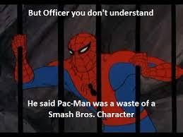 Pac Man Meme - spider man meme smash bros pac man by smashingstar64 on deviantart