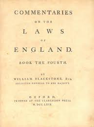 Ottoman Empire Laws File William Blackstone Commentaries On The Laws Of 1st