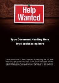 help wanted word template 09207 poweredtemplate com