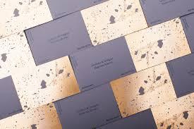 concrete business cards golden concrete architect business card mindsparkle mag