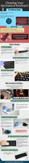 keyboard cleaning infographic mechanicalkeyboards