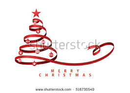 ribbon christmas tree ribbon christmas tree vector free vector at vecteezy