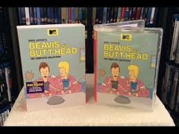 beavis and complete collection dvd unboxing and review