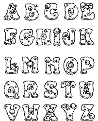 wonderful letter coloring sheets 12 10093