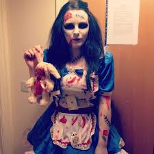 Halloween Costumes Alice Wonderland Zombie Alice Wonderland Alice Alice Halloween