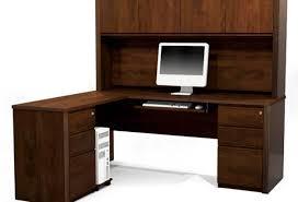 Cream Desk With Hutch Likableillustration Of Solid Oak Roll Top Desk As Black Wood