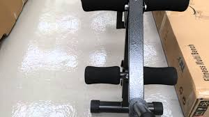 jll weight bench best exercise bench for home exercise youtube