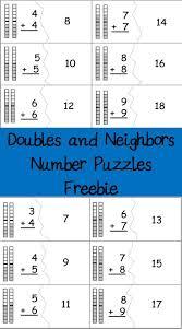 Doubles Worksheet Ks1 86 Best Math Doubles Images On Pinterest Math Doubles Doubles