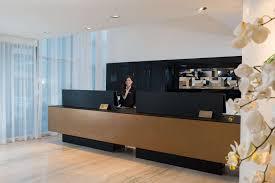 Hotel Lobby Reception Desk by Herods Herzliya Hotel Herods Hotels Israel