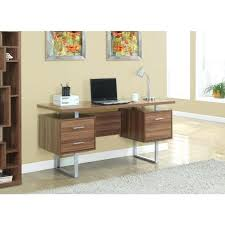 um image for awesome monarch specialties walnut desk with drawers 135 monarch specialties walnut desk with