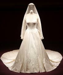 wedding dress up for kate middleton wedding dress goes on display at buckingham palace