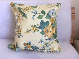laura ashley vintage fabric cushion cover laura ashley