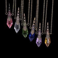 vintage crystal pendant necklace images Bullet point crystal pendant necklace supernaturalblackmarket jpg