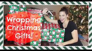watch me wrap all of my gifts for christmas youtube